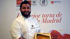 Carlos Sierra, de Poncelet, ganador del I Concurso de la Mejor Tarta...