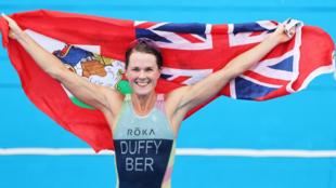 Flora Duffy, oro olímpico en triatlón