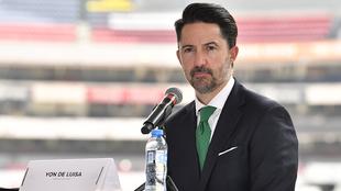 Yon de Luisa declaró en conferencia de prensa.