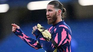 Ramos sufre una lesión en el sóleo