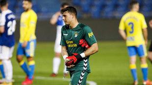 Alex Domínguez, con Las Palmas.