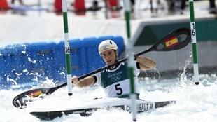 Maialen Chourraut, en la final de los Juegos de Tokio.