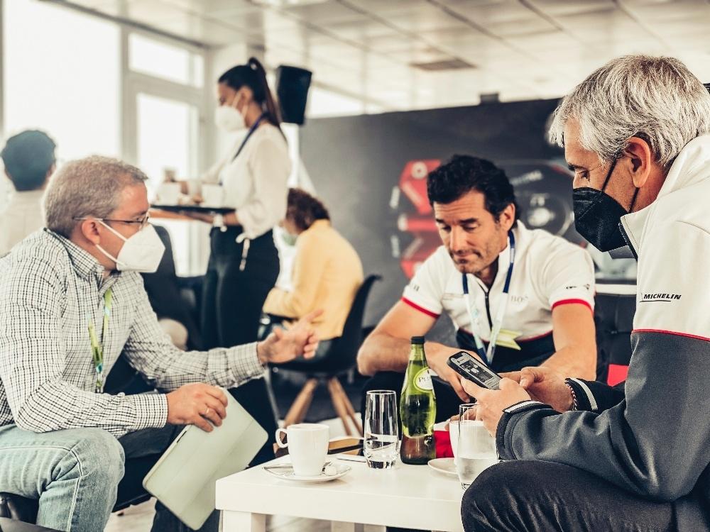 Entrevista a Mark Webber en Valencia 2021