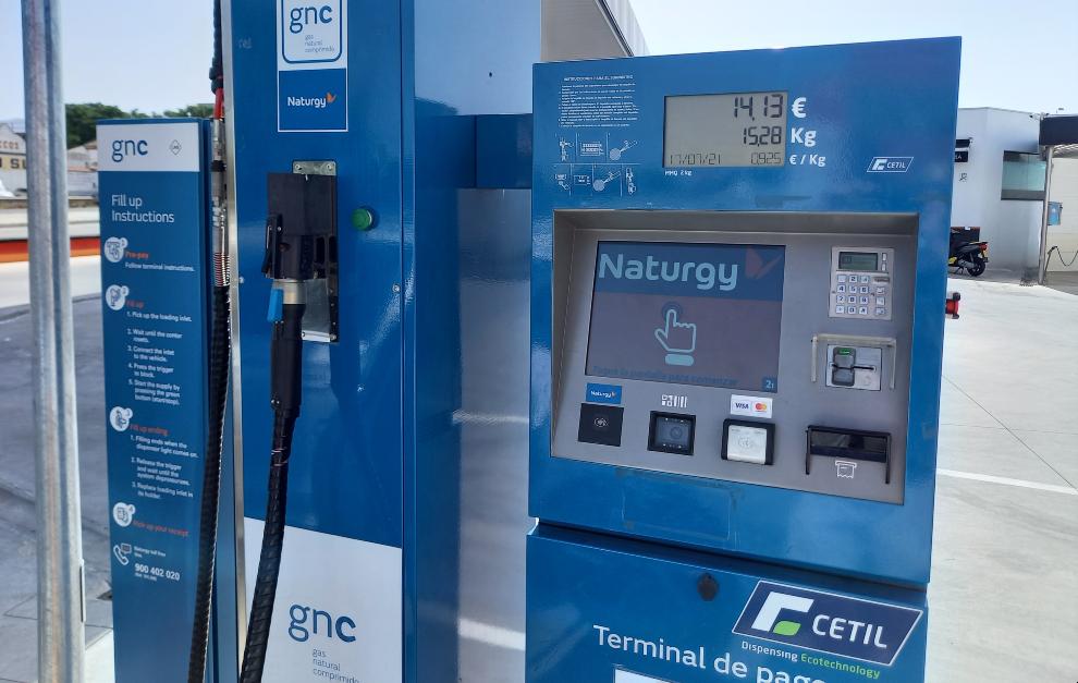 Surtidor GNC - Gas Natural - Petrol&Go Granada