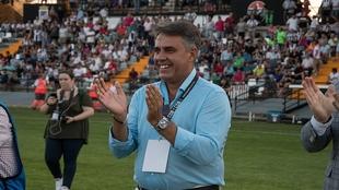 Joaquín Parra, presidente del Badajoz