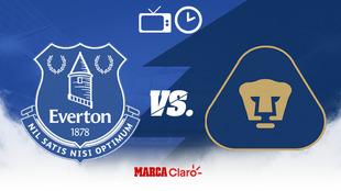 Pumas vs Everton, en la Florida Cup.