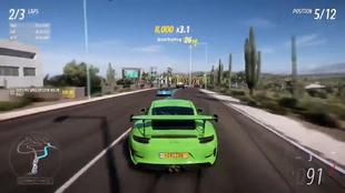 Así luce una carrera en Forza Horizon 5