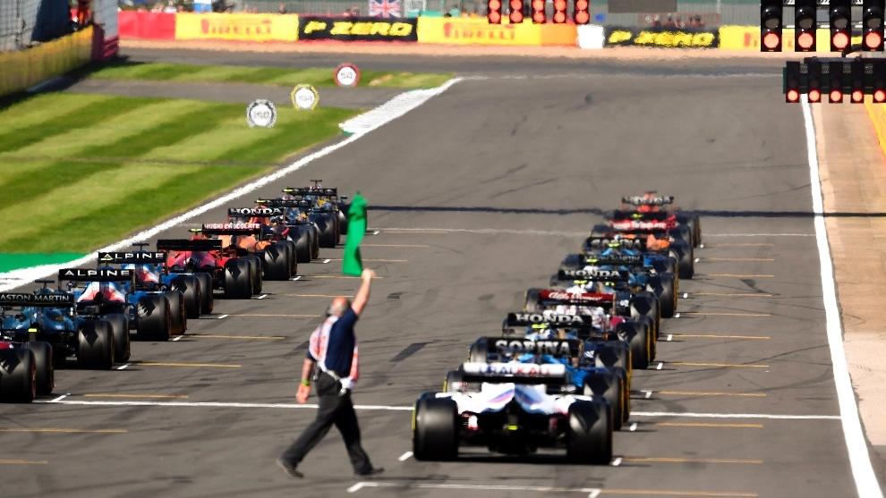 Salida Clasificación al Sprint en Silverstone