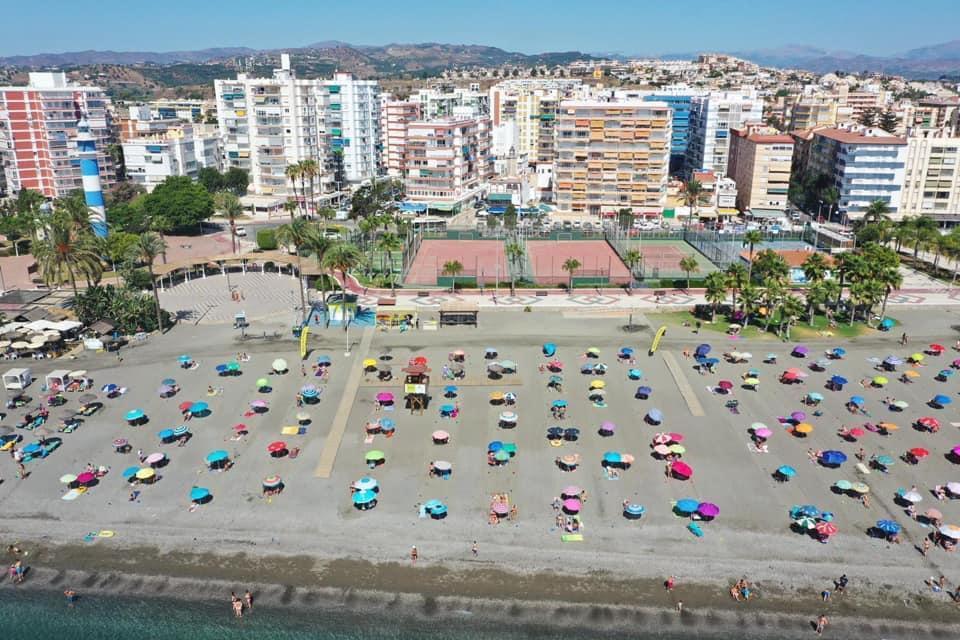Torre del Mar - Playa - Paseo marítimo - Faro