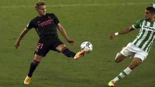 Odegaard Real Madrid