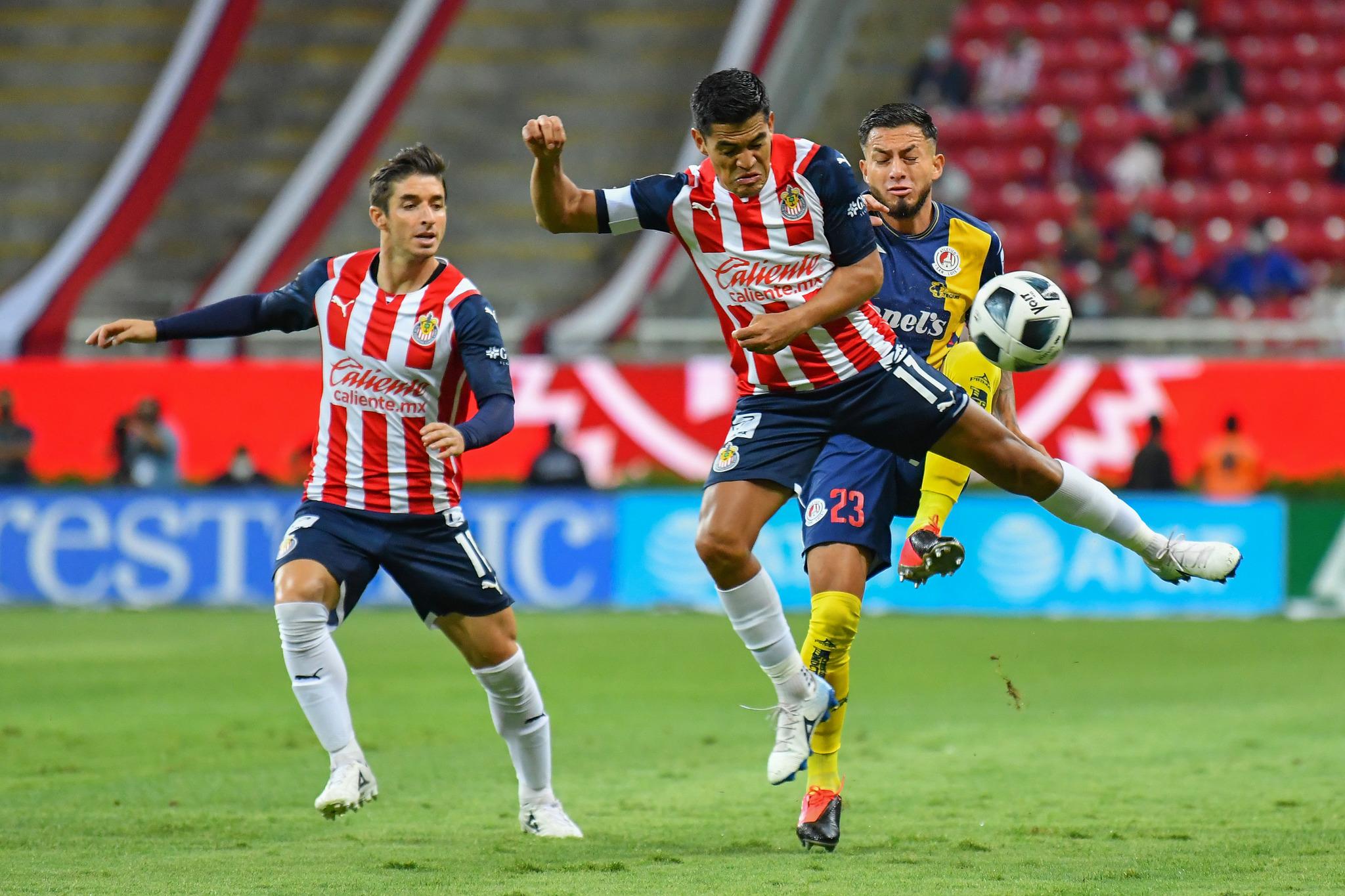 Chivas Apertura 2021 seleccionados
