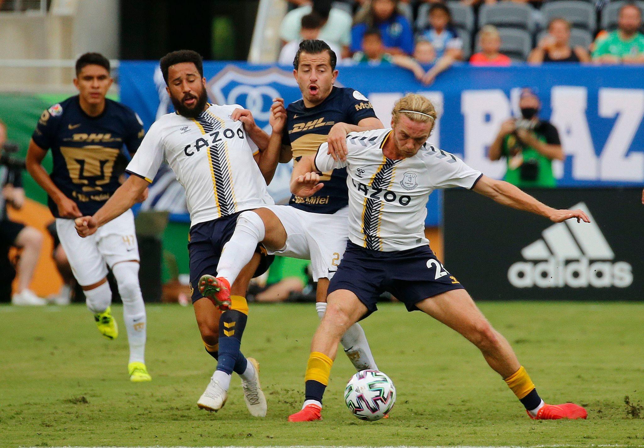 Everton vs Pumas: Resumen, goles en video y resultado final del partido amistoso de la Florida Cup