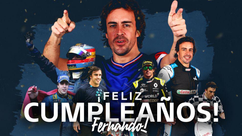 Fernando Alonso: sigue el tute a los 40