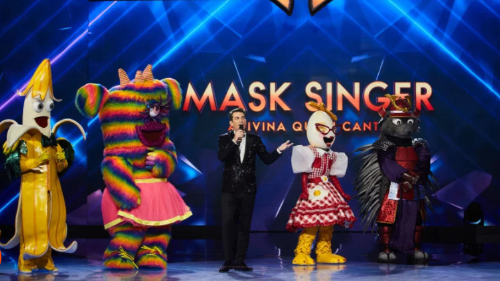 Mask Singer - final - Arturo Valls - Platano - Monstruita - Huevo - Erizo