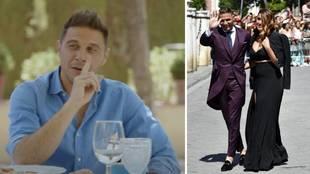"""Joaquín y su 'outfit' en la boda de Ramos y Pilar Rubio: """"Fui sin calcetines y me dieron..."""""""