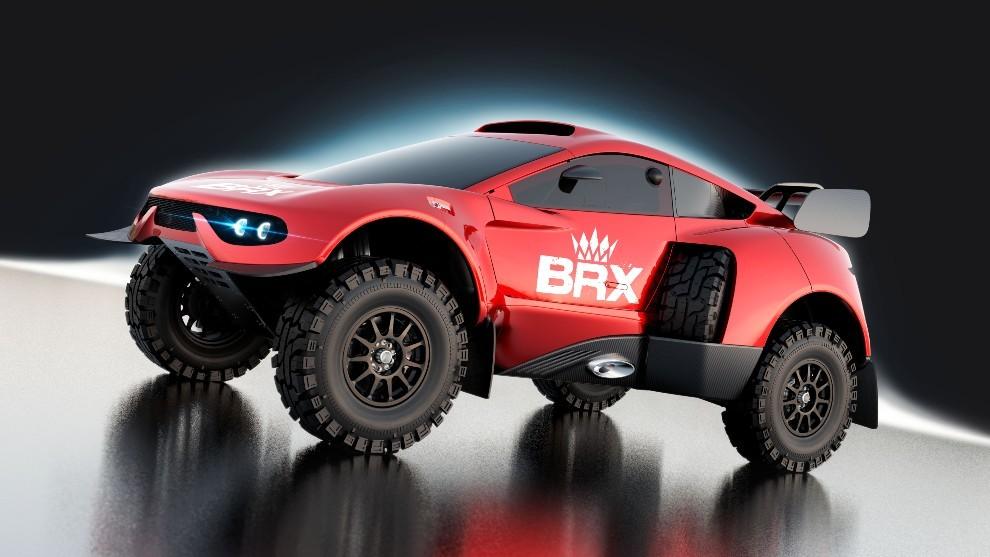 Dakar 2022 - BRX Hunter T1+ - Prodrive - Nani Roma - Sebastien Loeb -...