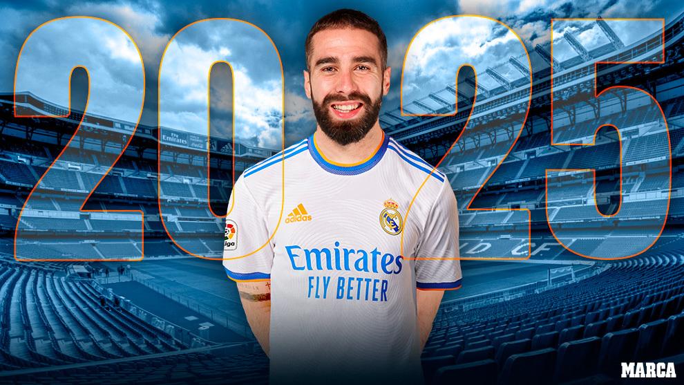 Carvajal renovacion Real Madrid