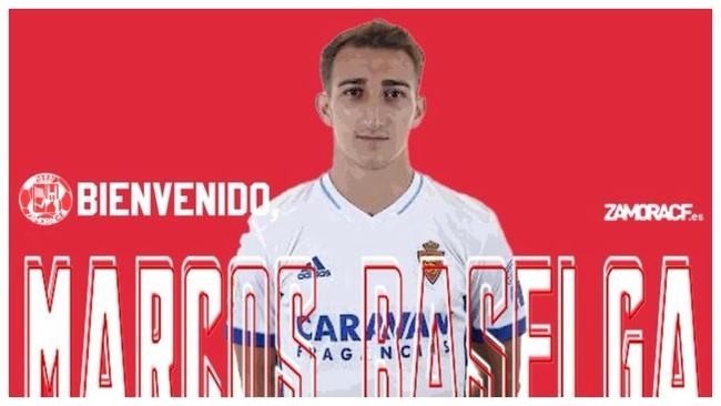 Marcos Baselga, nuevo jugador del Zamora.
