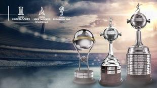 Las tres finales de la CONMEBOL se disputarán en Uruguay.