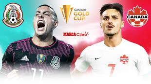 México vs Canadá en vivo y en directo online; resultado al momento.
