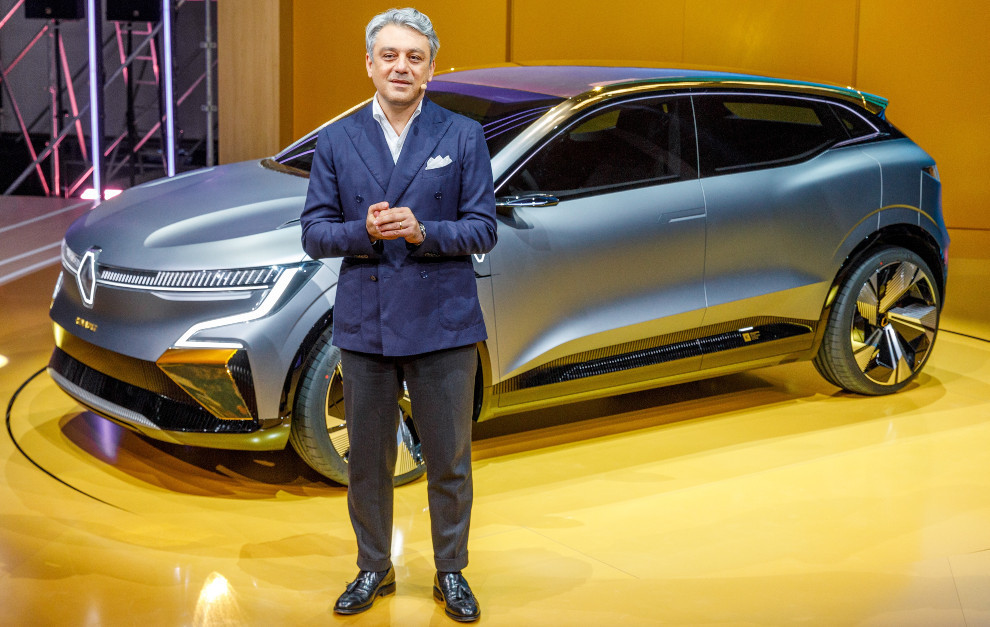 Luca de Meo - Renault Megane eVision