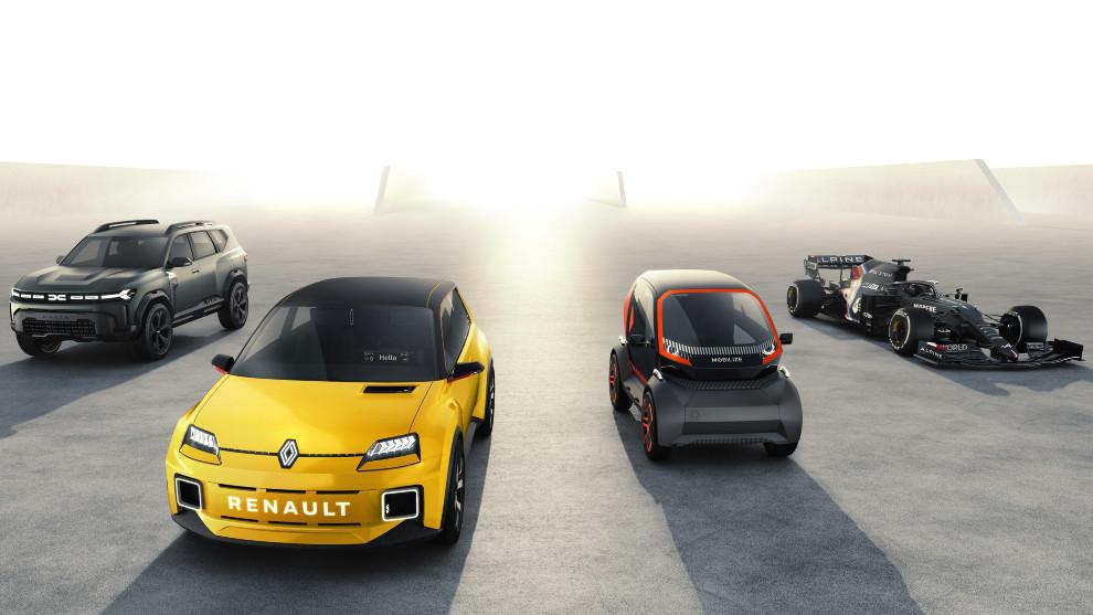 La 'Nouvelle Vague' de Renault.