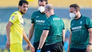 Dani Parejo, lesionado.