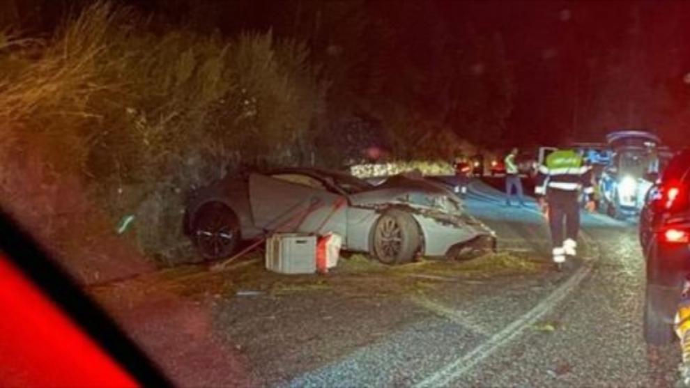 Youtuber - Salva - Accidente - Aston Martin Vantage