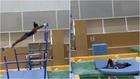 Biles muestra los efectos de su trastorno en un gimnasio privado