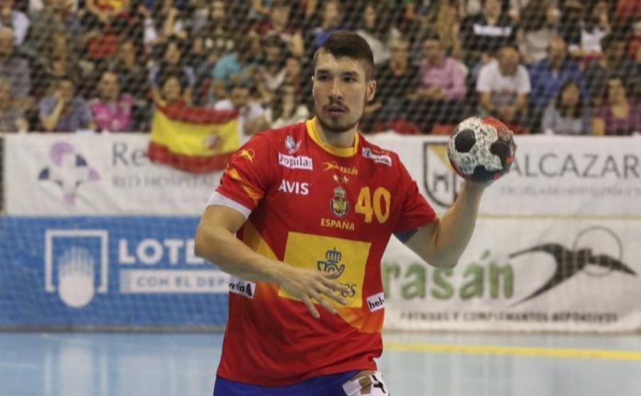 Álex Dujshebaev durante un partido