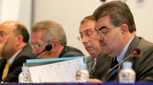 Junta General en la que se aprobó la operación Porxinos.