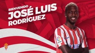 José Luis Rodríguez, 'el Puma' (23) ya es nuevo jugador...