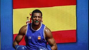 Emmanuel Reyes Pla antes de saltar al ring