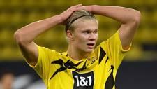 Haaland con el Borussia Dortmund.