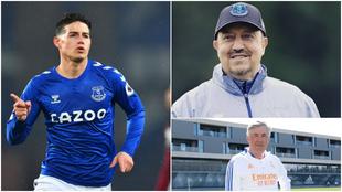 James, Benítez y Ancelotti