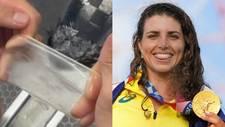 Póntelo, pónselo: Jessica Fox conquista el bronce... ¡con un condón!