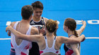 Gran Bretaña se lleva el oro en el debut del relevo mixto