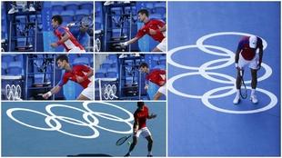 ¡Y Djokovic se volvió loco! Carreño pidió un punto de penalización para el serbio