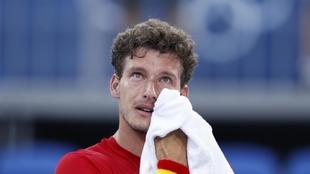 Pablo Carreño, emocionado tras ganar el bronce olímpico ante...
