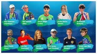 Los 11 ganadores del programa 'Gazprom Football for...