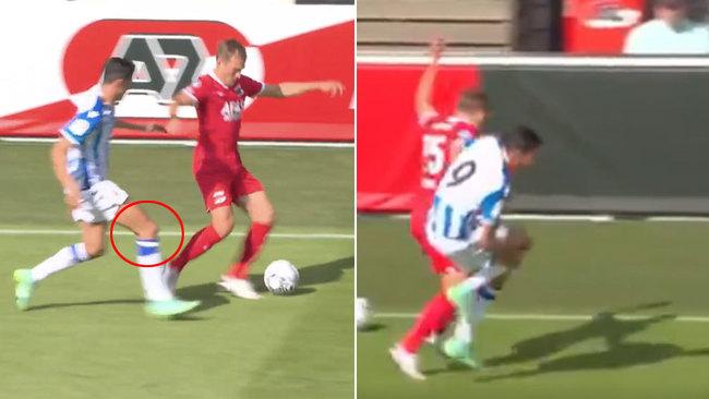 Alerta con la rodilla de Carlos Fernández