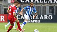 Willian José, en un momento del partido contra el Az Alkmaar.