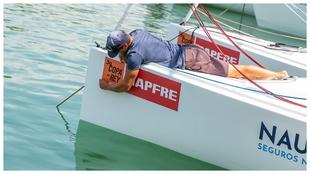 Las embarcaciones ultiman los preparativos.