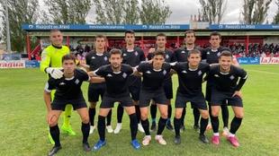 El primer once del Amorebieta que logra ganar como equipo de Segunda.