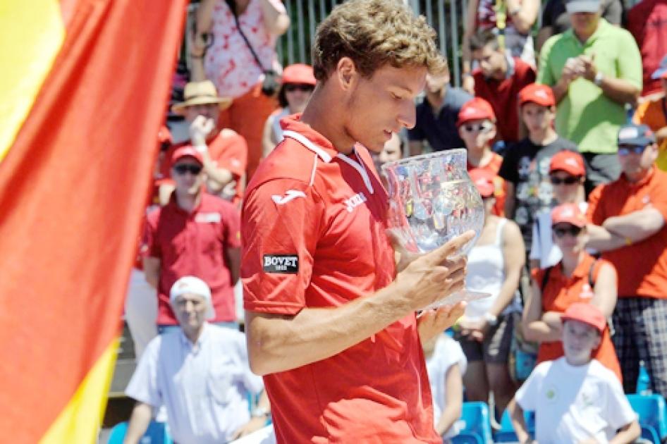 Pablo Carreño, campeón en 2013