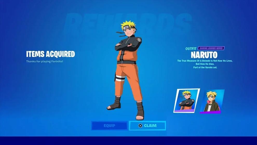 Fortnite Naruto