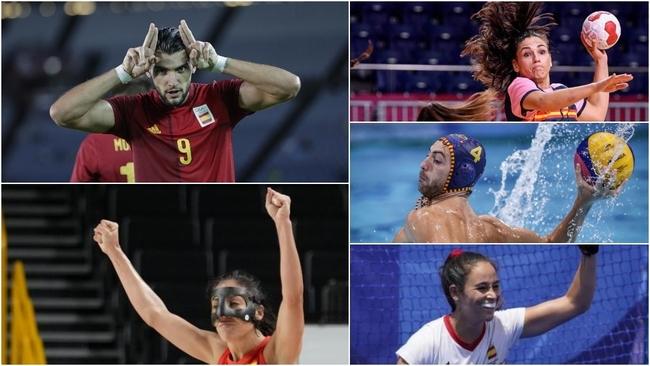 Equipos de España en los JJOO Tokio