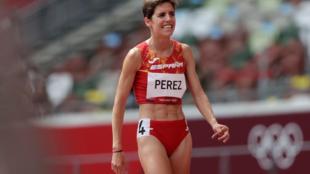 Marta Pérez después de la eliminatoria
