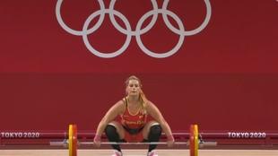 Lydia Valentin Juegos Olimpicos Halterofilia