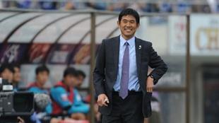 Hajime Moriyasu, seleccionador Olímpico de Japón.